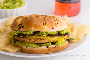 Vegan-Chicken-Avocado-Sandwich